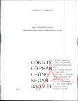 Báo cáo thường niên năm 2014 - Công ty Cổ phần Chứng khoán Bảo Việt