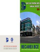 Báo cáo thường niên năm 2014 - Công ty Cổ phần Xây dựng và Giao thông Bình Dương