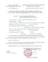 Báo cáo tài chính quý 2 năm 2014 (đã soát xét) - Công ty cổ phần Xuất nhập khẩu An Giang