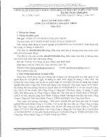 Báo cáo thường niên năm 2014 - CTCP Cảng Quy Nhơn