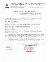 Nghị quyết Hội đồng Quản trị - Ngân hàng Thương mại cổ phần Đầu tư và Phát triển Việt Nam