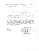 Báo cáo tài chính công ty mẹ quý 1 năm 2015 - Tổng Công ty Cổ phần Bảo hiểm Ngân hàng Đầu tư và phát triển Việt Nam