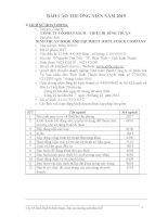 Báo cáo thường niên năm 2015 - Công ty Cổ phần Sách - Thiết bị Bình Thuận