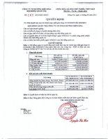 Báo cáo tài chính hợp nhất quý 4 năm 2014 - Công ty Cổ phần Đường Biên Hoà
