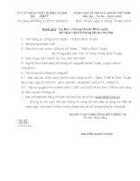 Báo cáo tài chính quý 3 năm 2014 - Công ty Cổ phần Sách - Thiết bị Bình Thuận