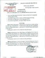 Nghị quyết Hội đồng Quản trị ngày 27-07-2011 - Công ty Cổ phần Khai thác và Chế biến Khoáng sản Bắc Giang