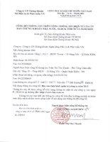 Báo cáo tình hình quản trị công ty - Công ty cổ phần Chứng khoán Ngân hàng Đầu tư và Phát triển Việt Nam