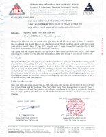 Báo cáo tài chính năm 2011 (đã kiểm toán) - CTCP Dược phẩm Agimexpharm