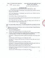Nghị quyết Đại hội cổ đông bất thường - Công ty Cổ phần Đường Biên Hoà