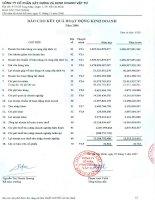 Báo cáo tài chính năm 2006 - Công ty Cổ phần Xây dựng và Kinh doanh Vật tư