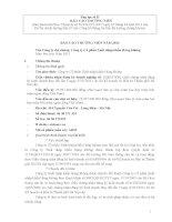 Báo cáo thường niên năm 2012 - Công ty Cổ phần Xuất nhập khẩu Hàng không