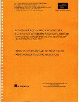 Báo cáo tài chính hợp nhất quý 2 năm 2015 (đã soát xét) - Công ty Cổ phần Đầu tư Phát triển Công nghiệp - Thương mại Củ Chi