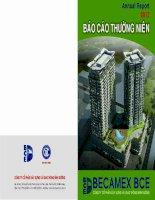 Báo cáo thường niên năm 2012 - Công ty Cổ phần Xây dựng và Giao thông Bình Dương