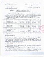 Báo cáo tài chính quý 4 năm 2015 - Công ty Cổ phần Đầu tư CMC
