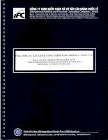 Báo cáo tài chính công ty mẹ năm 2014 (đã kiểm toán) - Tổng Công ty Xây dựng Công trình Giao thông 1 - CTCP