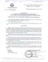 Nghị quyết Hội đồng Quản trị ngày Q3-09-2009 - Tập đoàn Bảo Việt
