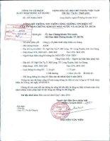 Báo cáo tài chính quý 1 năm 2014 - Công ty cổ phần Xuất nhập khẩu An Giang
