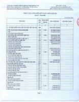Báo cáo tài chính quý 4 năm 2009 - Công ty Cổ phần Chứng khoán Nông nghiệp và Phát triển Nông thôn