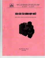 Báo cáo tài chính quý 3 năm 2009 - Công ty Cổ phần Đầu tư Xây dựng Bình Chánh