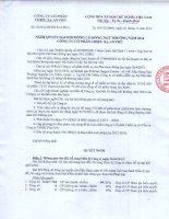 Nghị quyết Đại hội cổ đông bất thường - Công ty Cổ phần Chiếu xạ An Phú