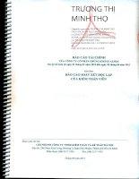 Báo cáo tài chính quý 2 năm 2015 (đã soát xét) - Công ty Cổ phần Chứng khoán ALPHA