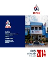 Báo cáo thường niên năm 2014 - Công ty Cổ phần Xuất nhập khẩu Thủy sản An Giang