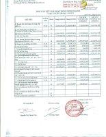 Báo cáo tài chính quý 1 năm 2013 - Công ty Cổ phần Dịch vụ Bến Thành
