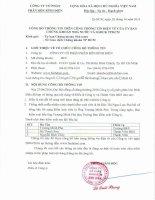 Bản điều lệ - Công ty cổ phần Phân bón Bình Điền