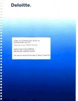 Báo cáo tài chính công ty mẹ năm 2011 (đã kiểm toán) - Công ty Cổ phần Xây dựng và Kinh doanh Vật tư