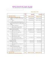 Báo cáo tài chính quý 2 năm 2006 - Công ty cổ phần Đầu tư Hạ tầng Kỹ thuật T.P Hồ Chí Minh