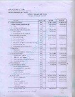 Báo cáo tài chính hợp nhất quý 1 năm 2011 - Công ty Cổ phần Chiếu xạ An Phú