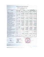 Báo cáo tài chính quý 3 năm 2014 - Công ty Cổ phần Đầu tư CMC