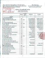 Báo cáo tài chính quý 3 năm 2013 - Công ty cổ phần Chứng khoán Ngân hàng Đầu tư và Phát triển Việt Nam