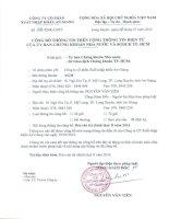 Báo cáo tài chính quý 2 năm 2014 - Công ty cổ phần Xuất nhập khẩu An Giang