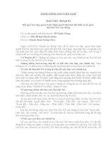 Bài thu hoạch học tập nghị quyết XII