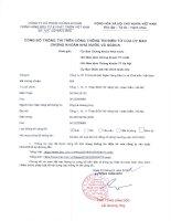 Nghị quyết Đại hội cổ đông thường niên - Công ty cổ phần Chứng khoán Ngân hàng Đầu tư và Phát triển Việt Nam