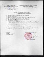 Báo cáo tài chính quý 4 năm 2014 - Công ty Cổ phần Xuất nhập khẩu Hàng không