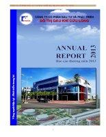 Báo cáo thường niên năm 2012 - Công ty cổ phần Đầu tư và Phát triển Đô thị Dầu khí Cửu Long