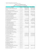Báo cáo tài chính quý 4 năm 2010 - Công ty Cổ phần Sách - Thiết bị Bình Thuận