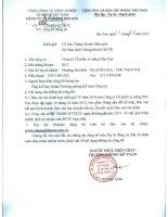 Báo cáo tài chính quý 4 năm 2014 - Công ty Cổ phần Xi măng Bỉm Sơn