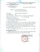Báo cáo tài chính công ty mẹ quý 4 năm 2014 - Công ty Cổ phần Xi măng Bỉm Sơn