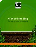 Báo cáo thường niên năm 2009 - Công ty Cổ phần Đầu tư Xây dựng Bình Chánh