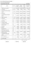 Báo cáo tài chính hợp nhất quý 4 năm 2008 - Công ty Cổ phần Chế biến và Xuất nhập khẩu Thủy sản CADOVIMEX