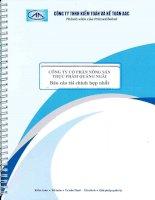 Báo cáo tài chính hợp nhất năm 2014 (đã kiểm toán) - CTCP Nông sản thực phẩm Quảng Ngãi