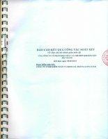 Báo cáo tài chính công ty mẹ quý 2 năm 2015 (đã soát xét) - Công ty Cổ phần Khai thác và Chế biến Khoáng sản Bắc Giang