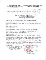 Nghị quyết Hội đồng Quản trị - Công ty cổ phần Chứng khoán Ngân hàng Đầu tư và Phát triển Việt Nam