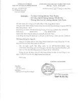 Nghị quyết Hội đồng Quản trị - Công ty Cổ phần Đầu tư Xây dựng Bình Chánh