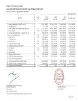 Báo cáo KQKD hợp nhất quý 2 năm 2012 - Công ty Cổ phần Gò Đàng