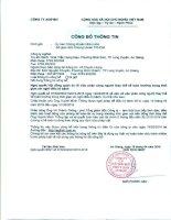 Nghị quyết Hội đồng Quản trị - Công ty Cổ phần Xuất nhập khẩu Thủy sản An Giang