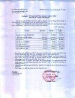 Báo cáo tài chính hợp nhất quý 2 năm 2013 - Tổng Công ty Cổ phần Bảo Minh